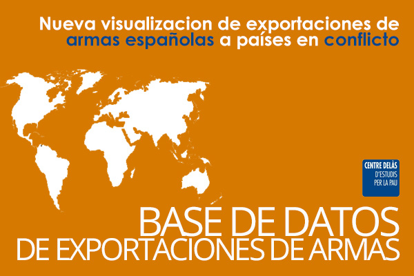 New Data visualization of Spanish arms exports to conflicts