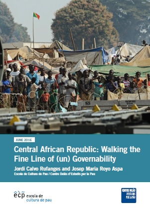 Report of Center Delàs and ECP: Central African Republic: Walking the Fine Line of (un) Governability