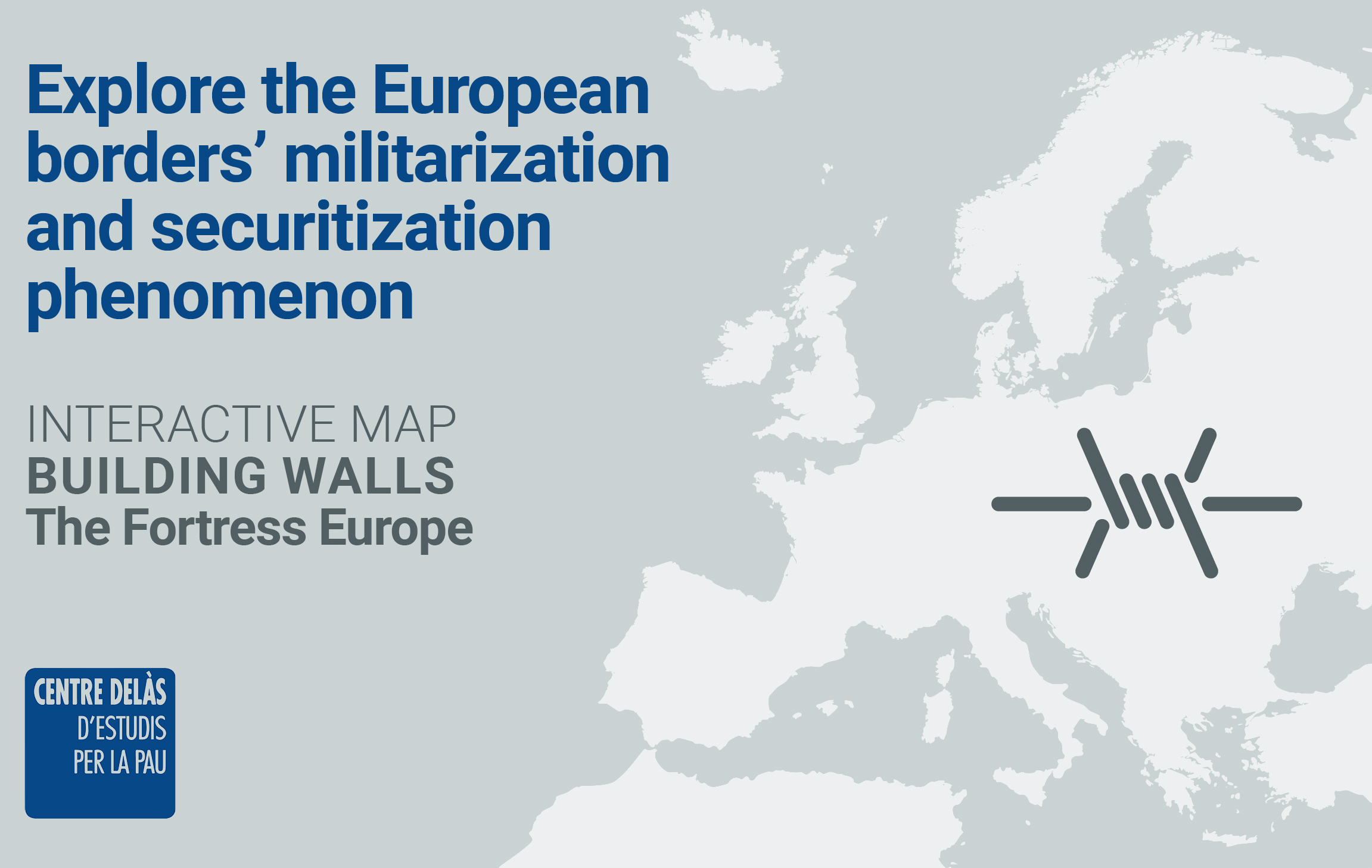 """Which walls have the European contries built to stop migration? Interactive map """"Building walls. Fortress Europe"""" is already available"""