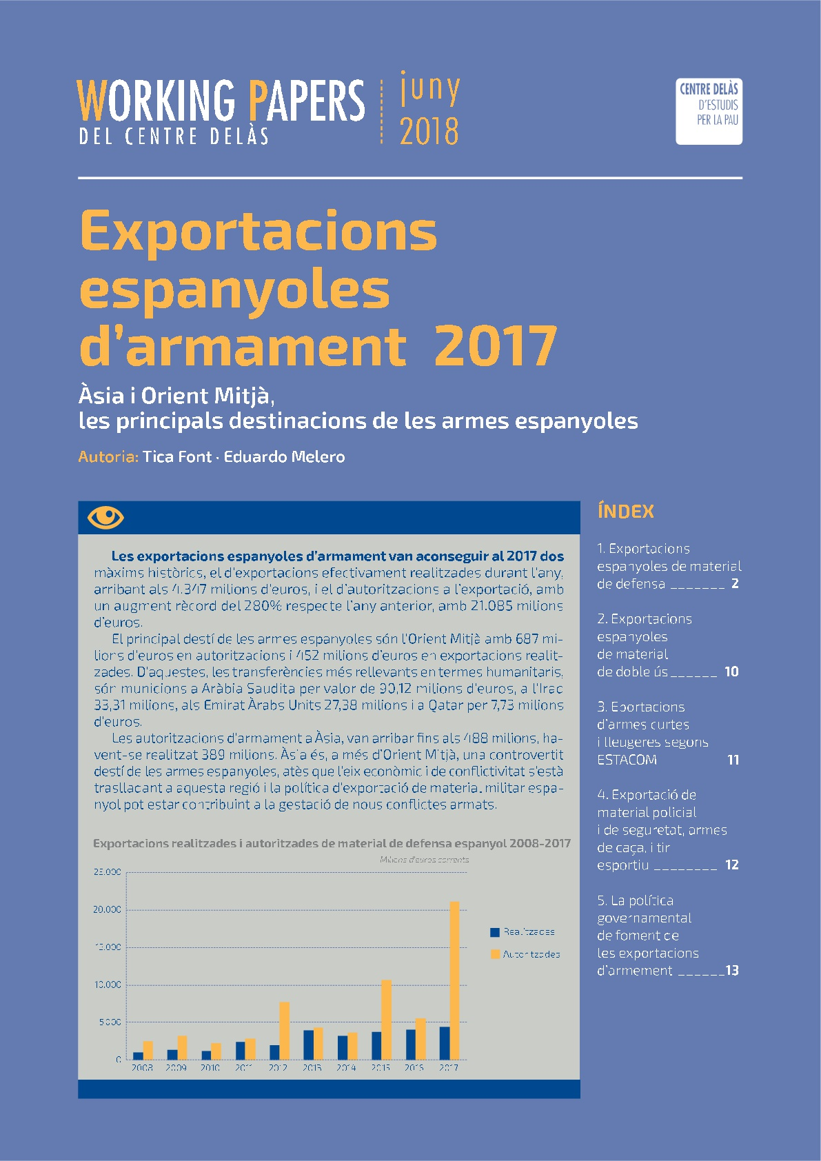Working Paper: Spanish arms exports 2017