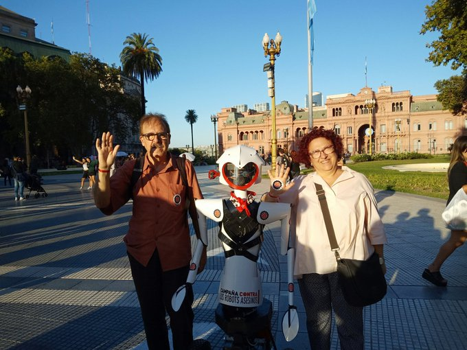 The Delàs Centre is once again participating in the Global Meeting of the global Stop Killer Robots campaign, held this year in Buenos Aires